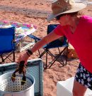 Lobster Boil on PEI beach